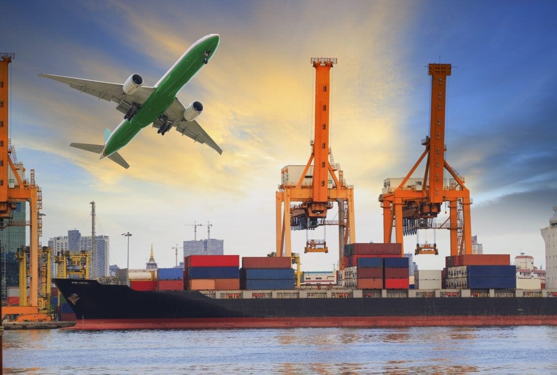 Air and sea freight