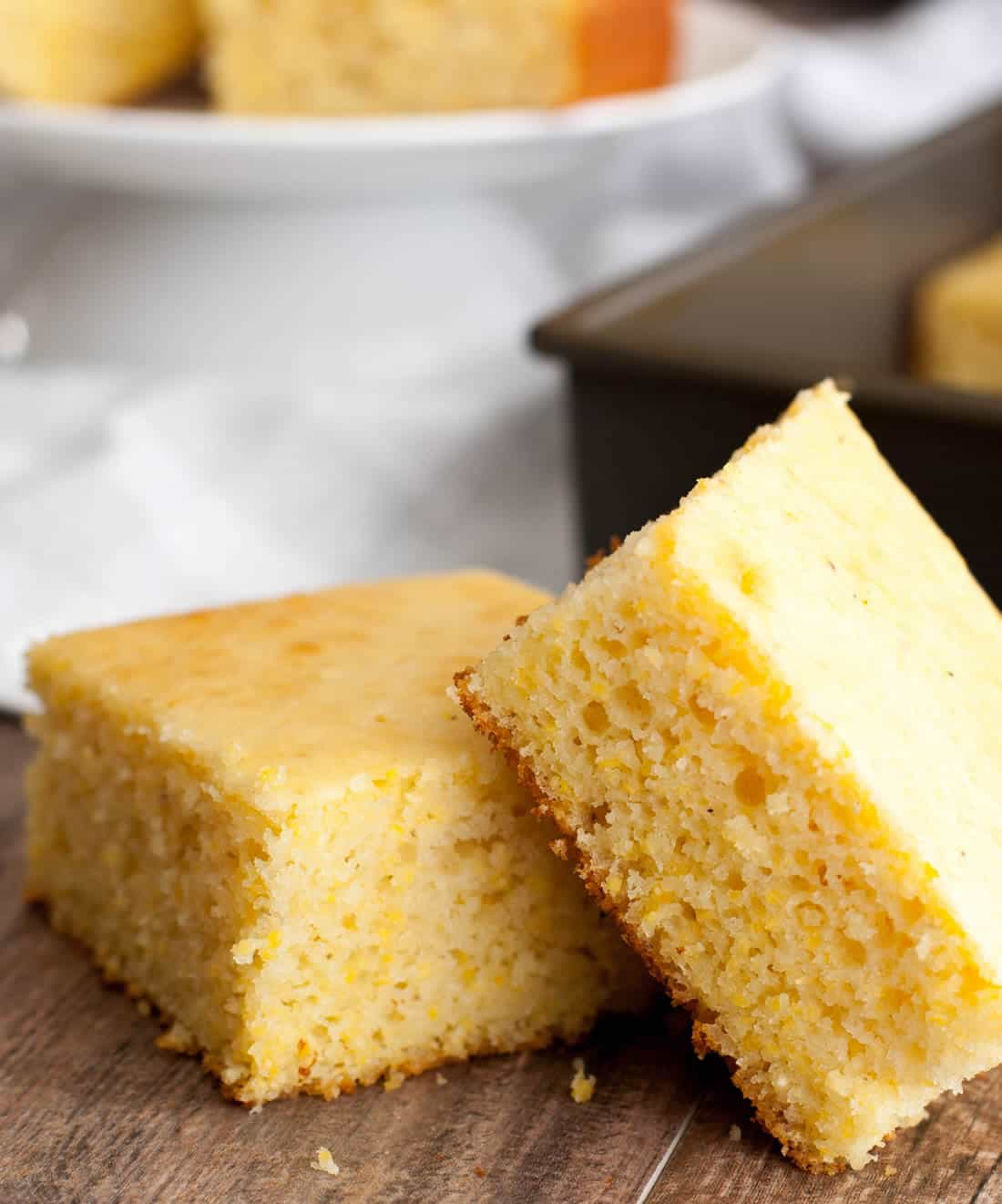Fluffy Sweet Cornbread-5