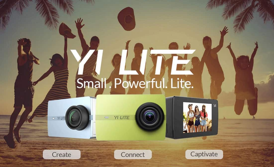 GoPro Alternatives Copy Cheap Action Camera Best Video Quality AliExpress Xiaomi Yi Lite1