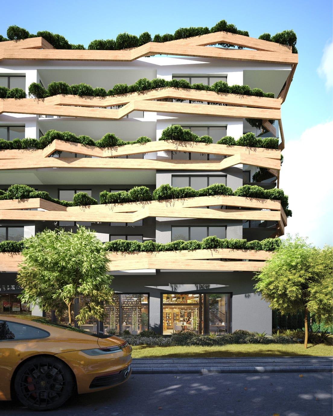 Architecture-apartment-building