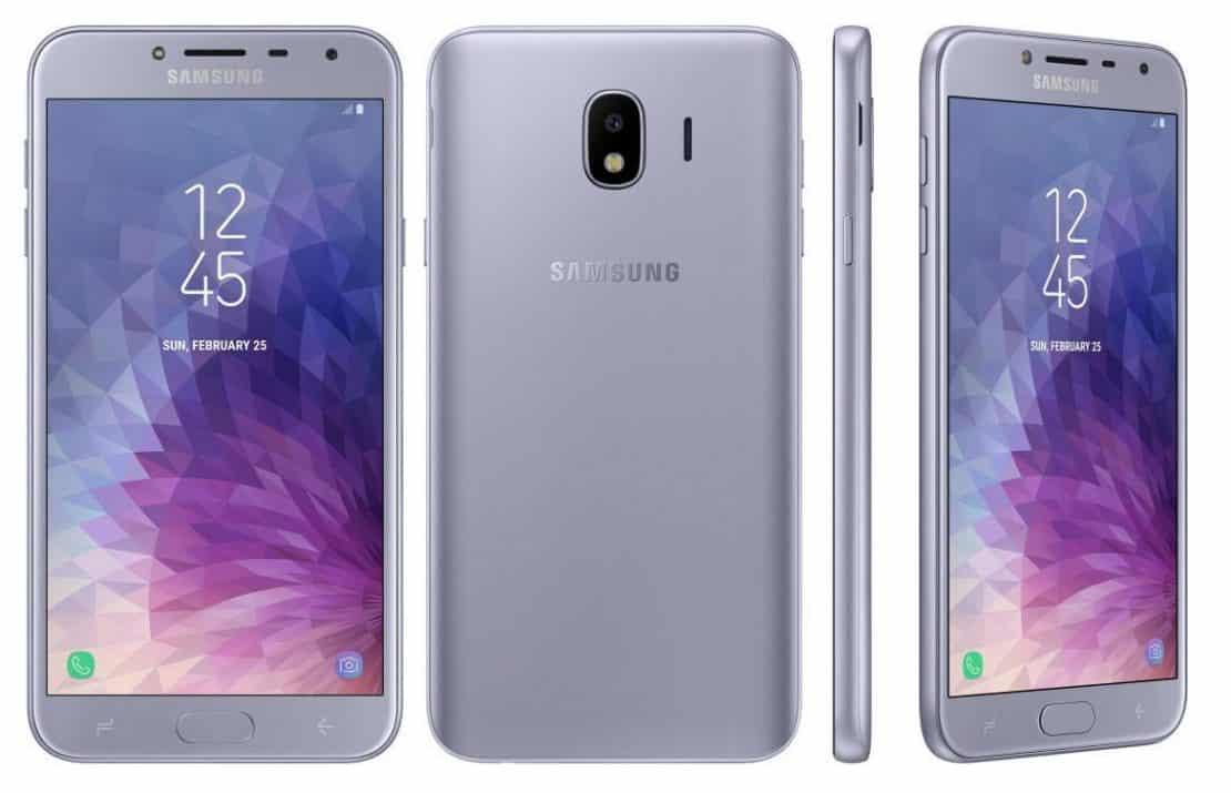 Samsung Galaxy J4 design
