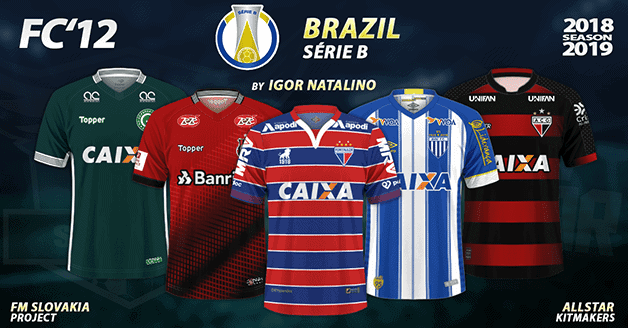 Football Manager 2019 Kits - FC'12 Brazil – Série B 2018
