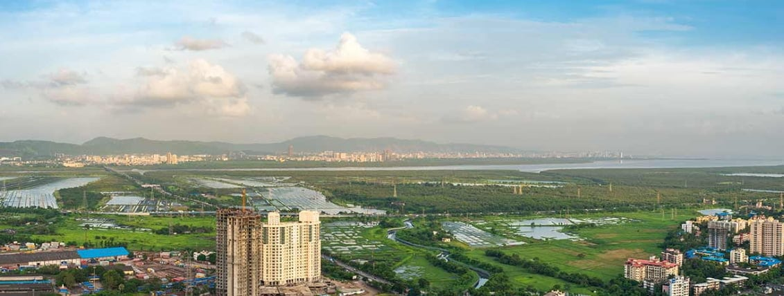 Runwal Greens Residential Projects in Mulund West Mumbai.