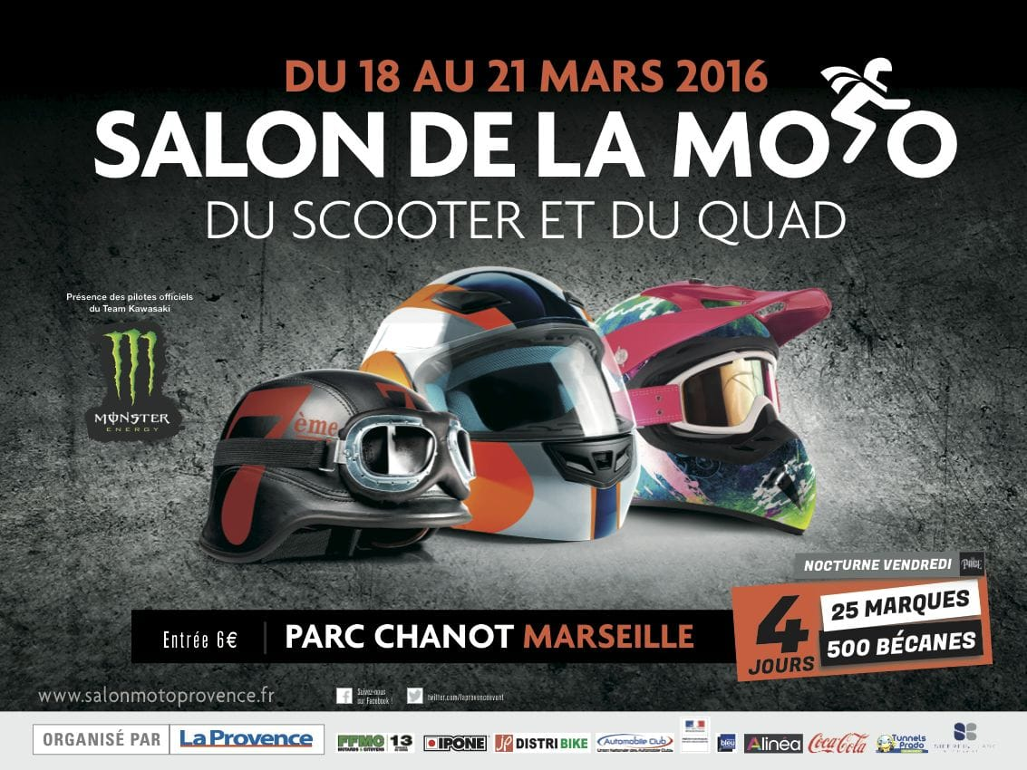 salon Moto et Scooter Marseille 2018