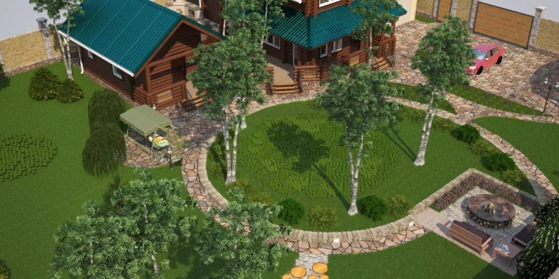 Как спланировать участок под строительство загородного дома