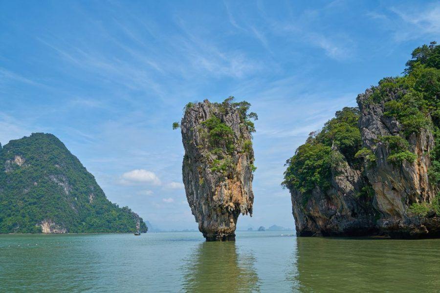 Playa James Bond en la Bahía de Phang Nga Bay