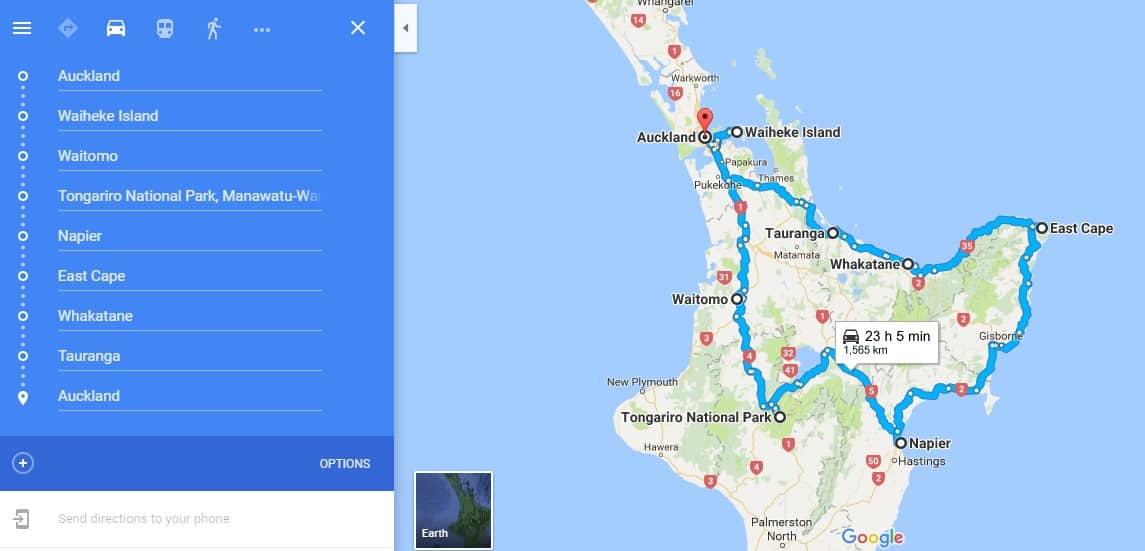 10-day-north-island-self-drive-itinerary