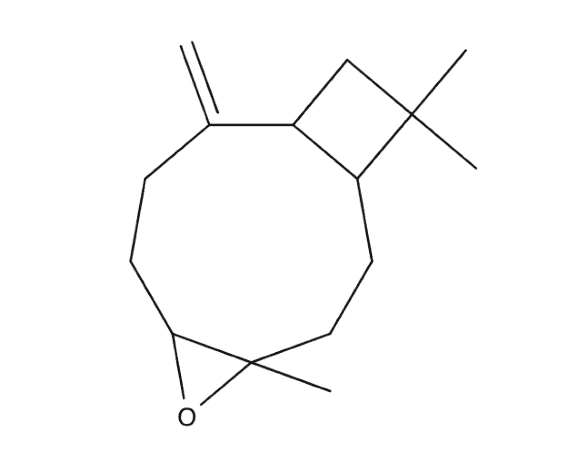 Caryophyllene-Oxide chemical structure