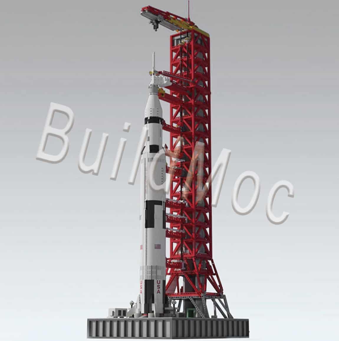 Best AliExpress Lego Replica Top Lego Alternative Cheap Lego Clone BuildMoc Store Saturn V Apollo Moon Rocket Stand