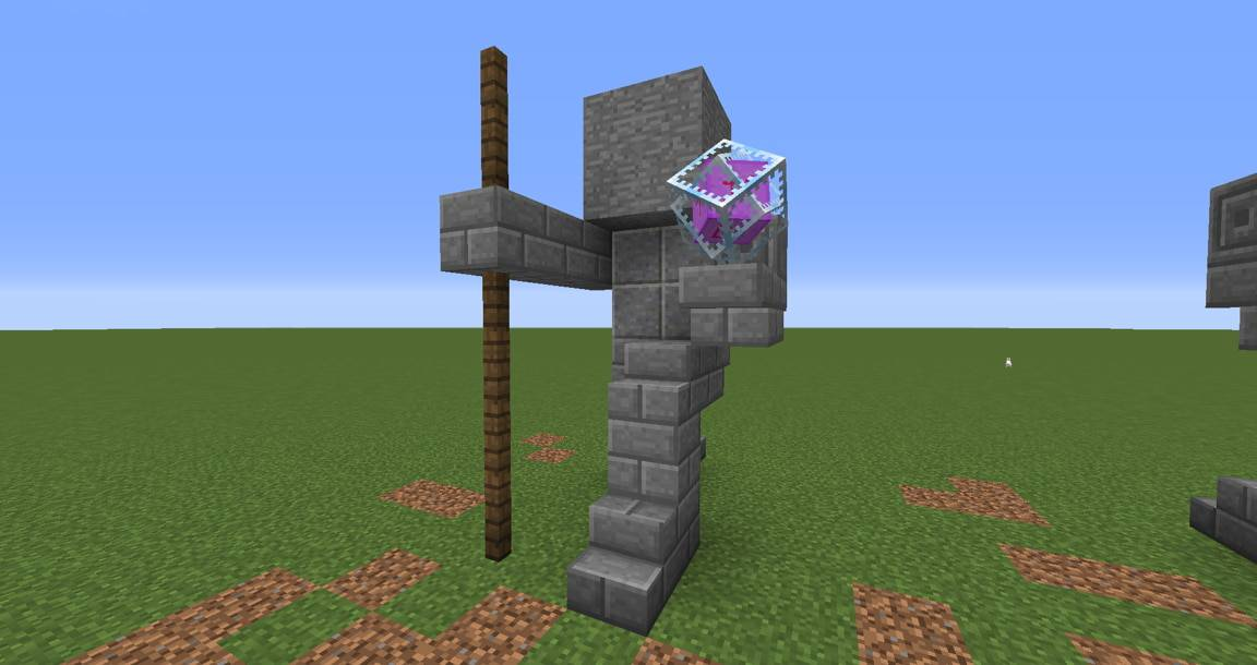 05 - Small Kneeling Statues easy build for miencraft ideas