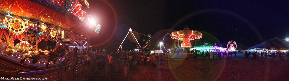 Maui fair at night