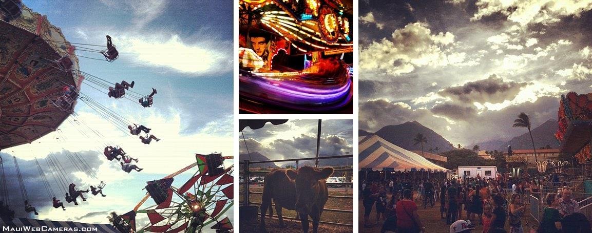 Maui Fair rides