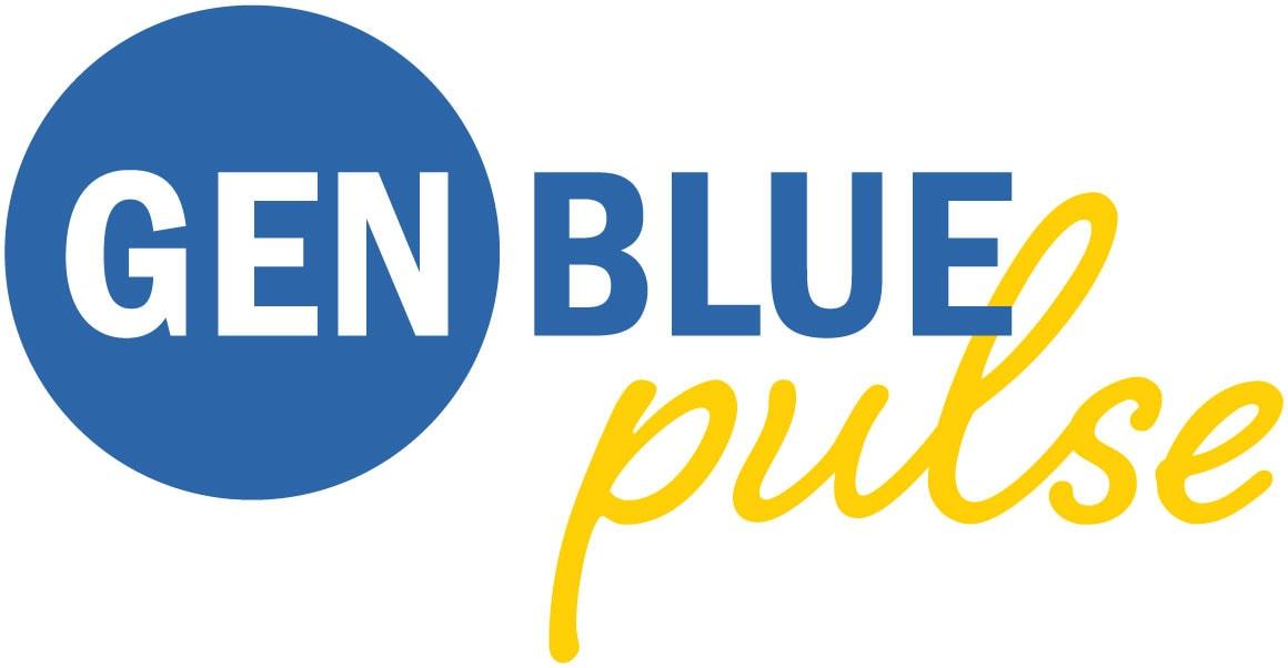 Gen Blue Pulse Logo Cropped
