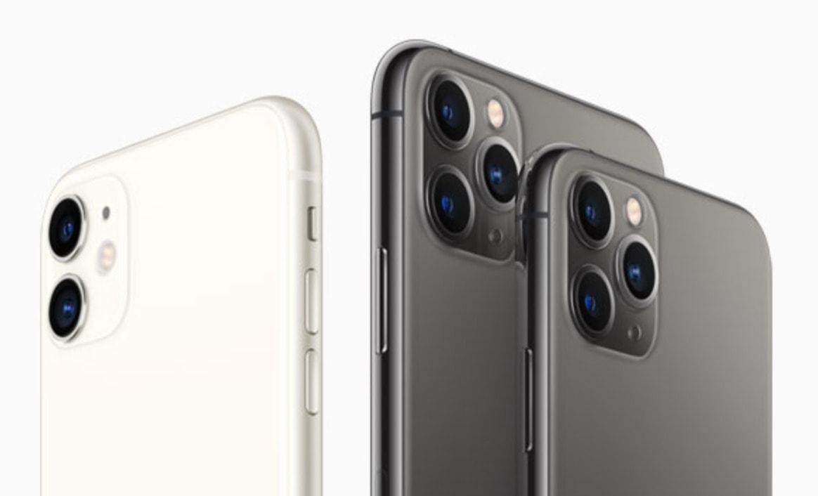 o iPhone 11 está