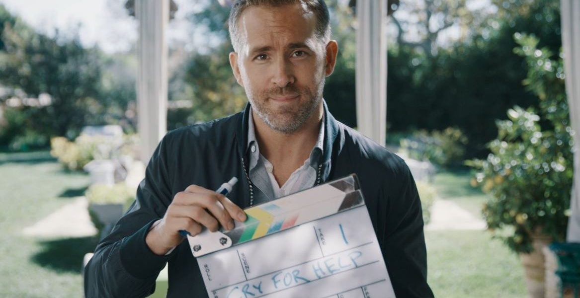 Ryan Reynolds made a hilarious video of fake slogans for Aviation American Gin