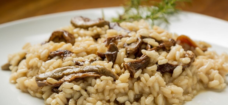 risotto mantecato con mozzarella o burrata di bufala