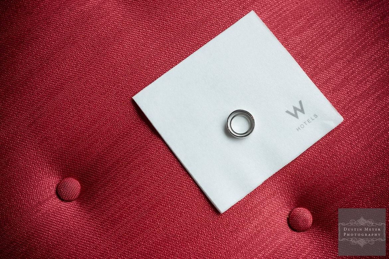 the w austin hotel wedding rings