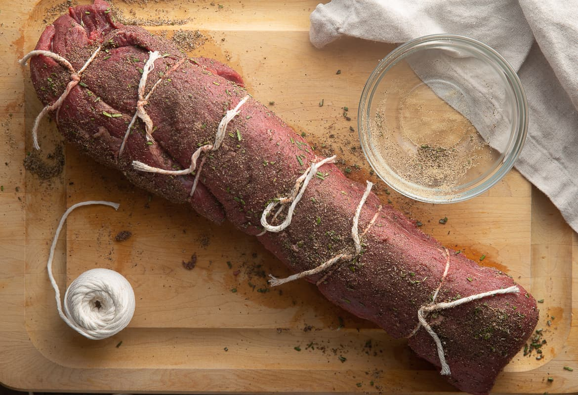 how to season beef tenderloin