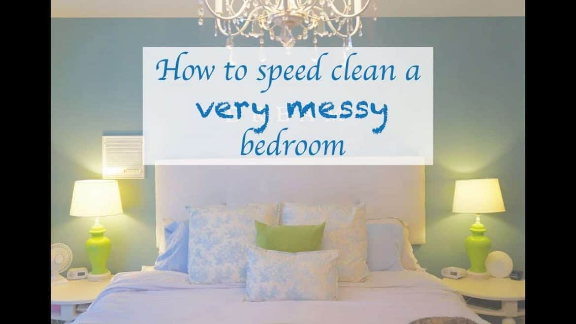 How to clean a messy room