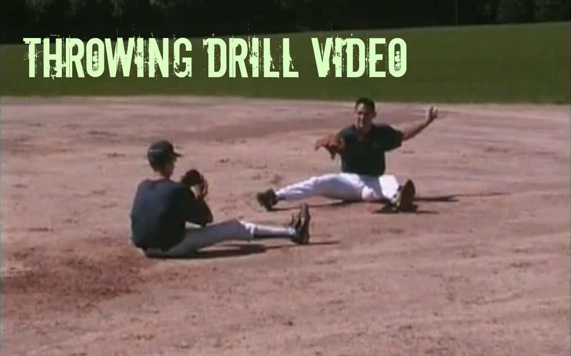 baseball throwing drill