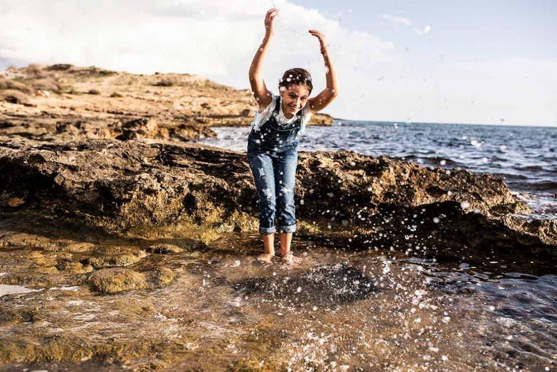 ropa de niños Mallorca agua