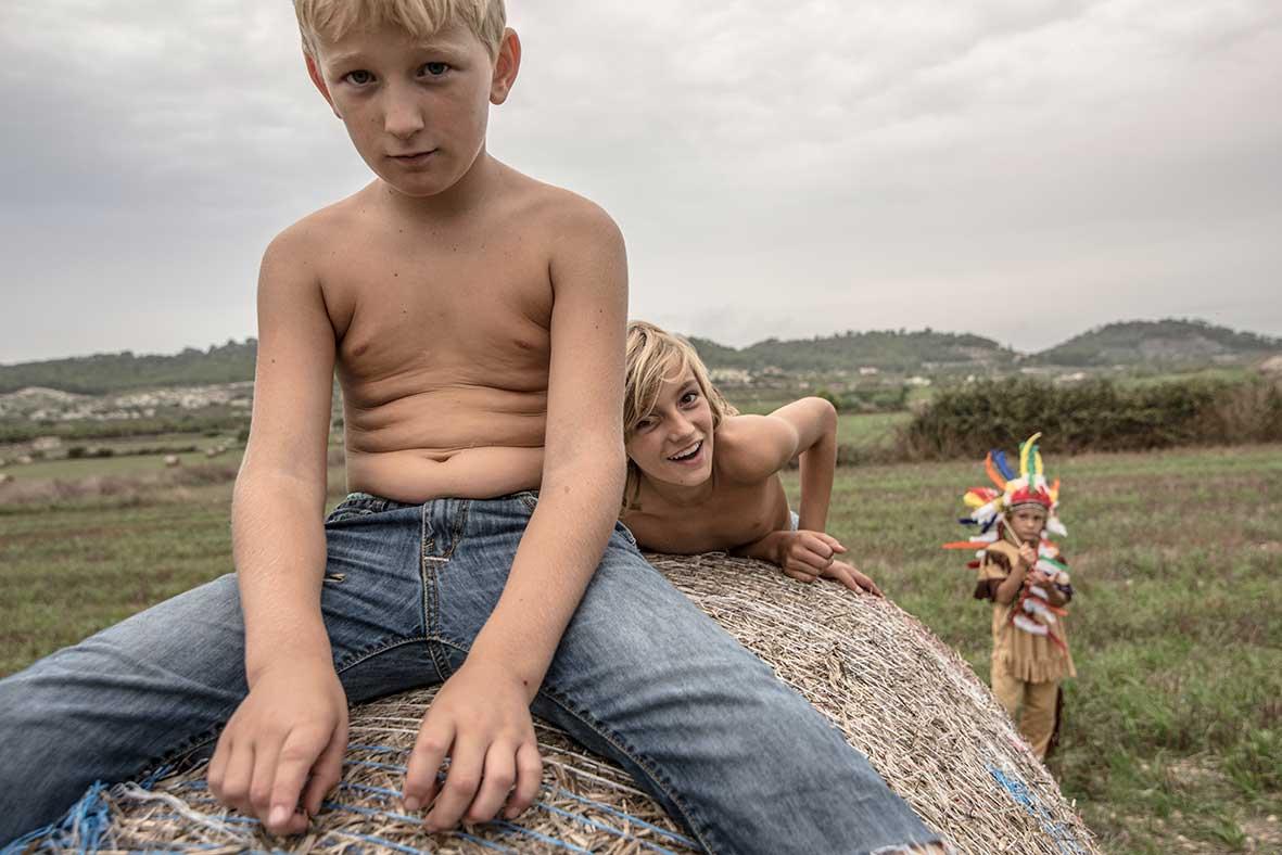 fotografo niños mallorca isla