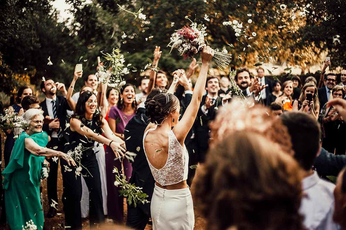 fotografos mallorca boda salida iglesia