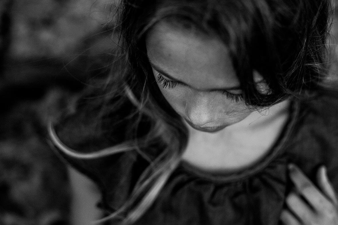 sesión de fotos Mallorca blanco y negro