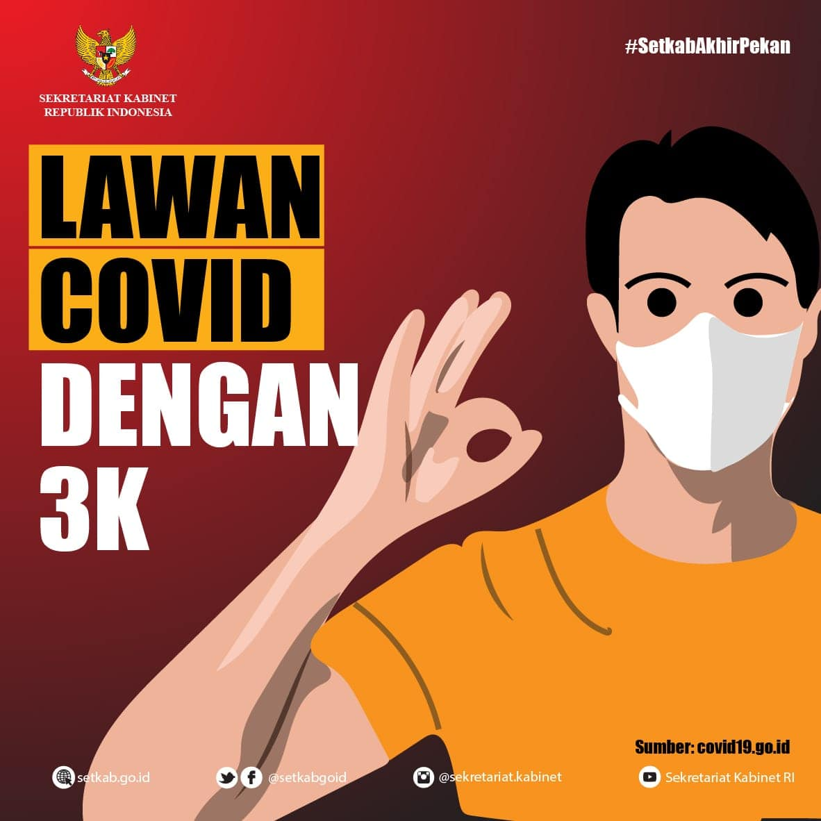 Lawan Covid-19 dengan 3K
