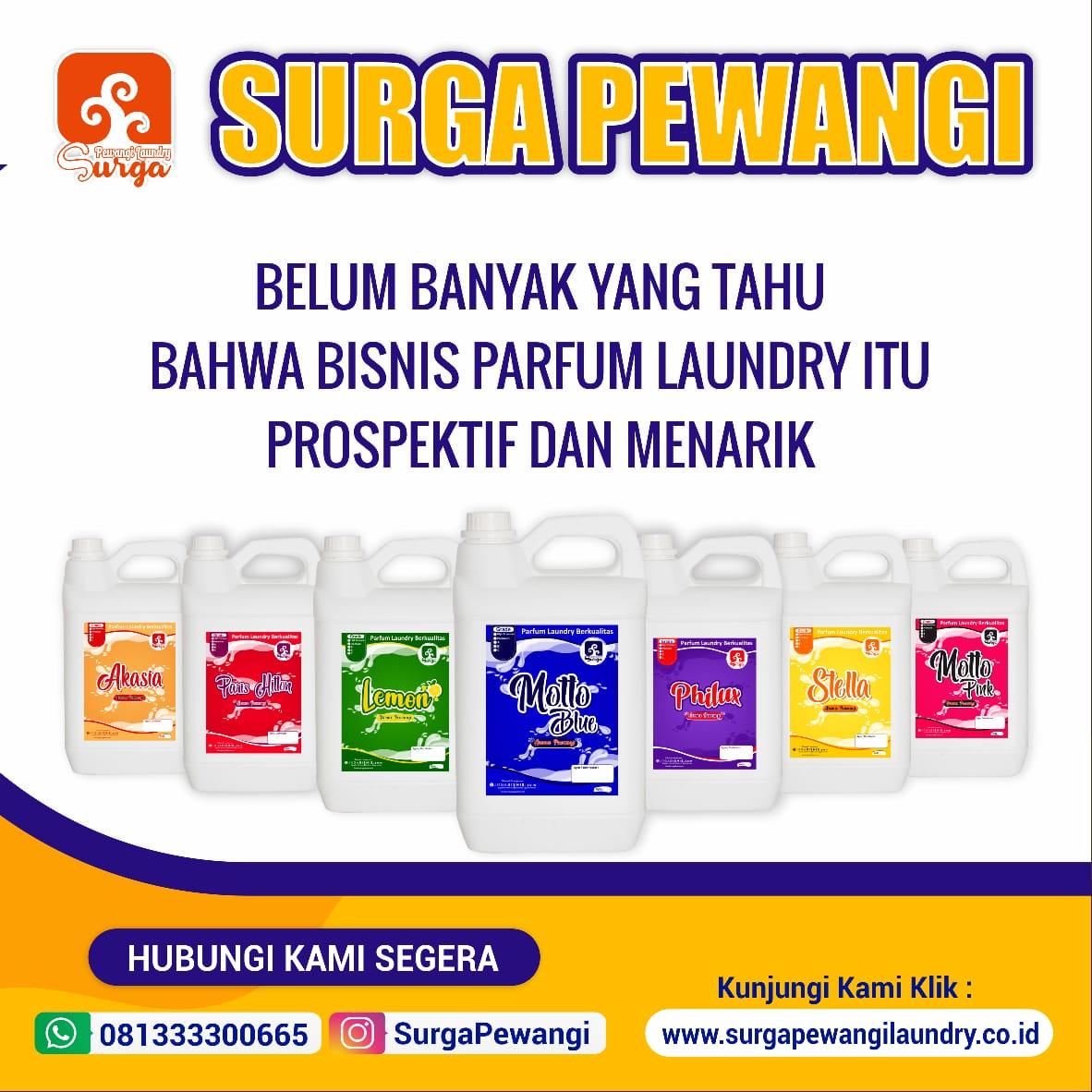 Produsen Parfum Laundry Indonesia