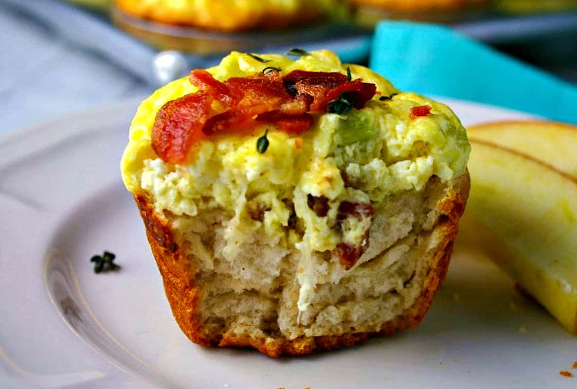 Bacon Quiche Biscuit Cups | Life, Love, and Good Food
