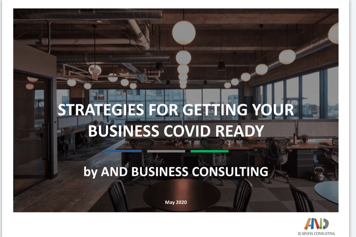 AND Business Consulting Blog - Strategies to get Covid ready