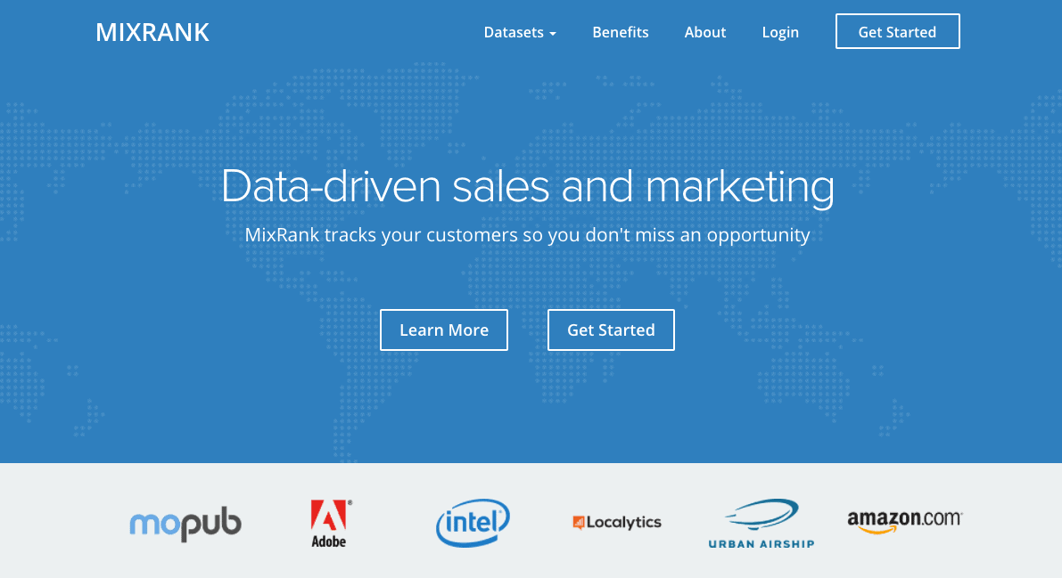 outils sales automation mixrank
