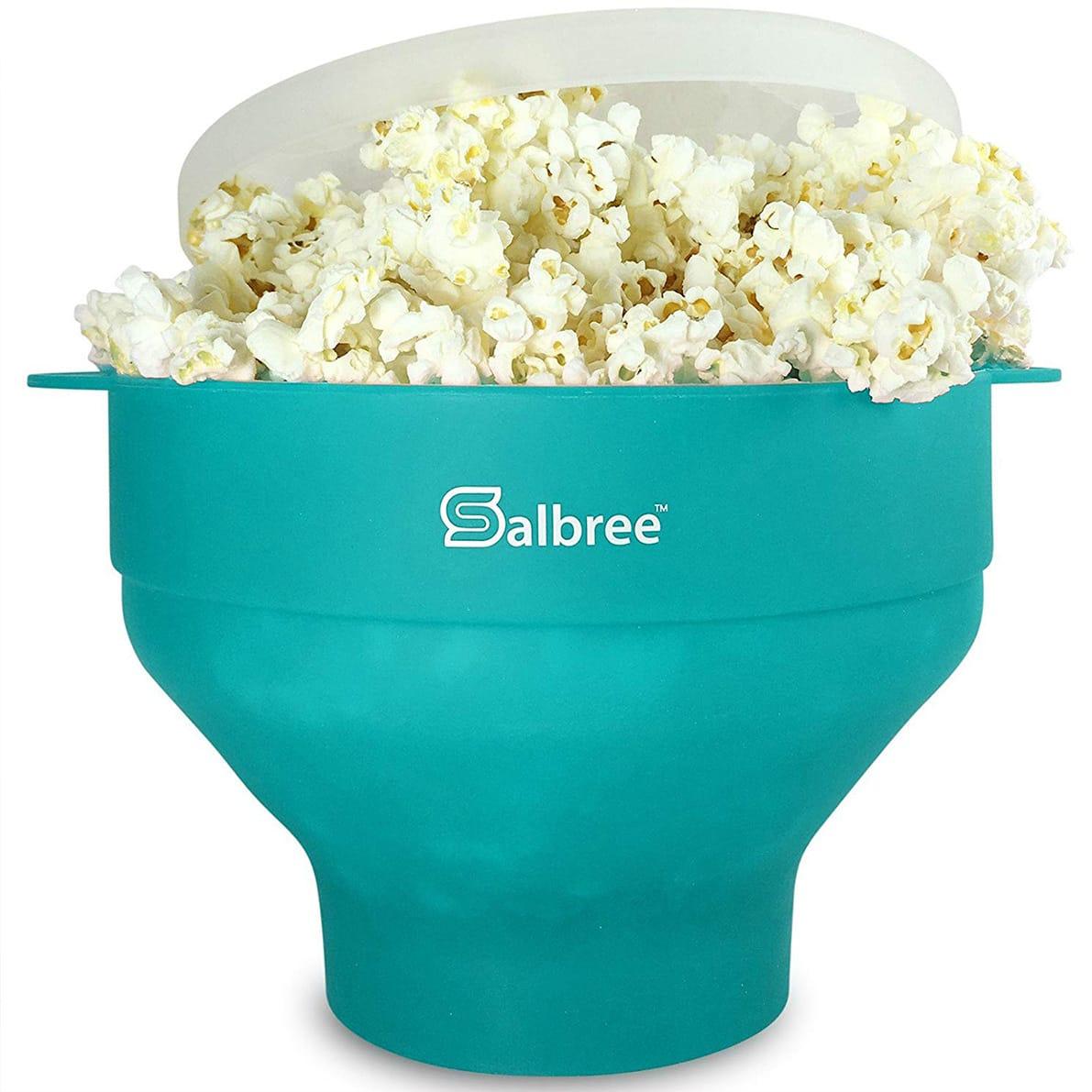 Salbree Popcorn Popper Bowl Review