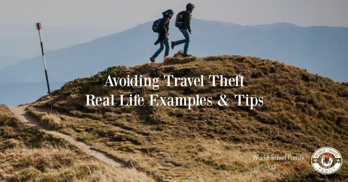 Tips in Avoiding Travel Theft and Robbery. Travel Security