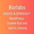 Borlabs Cookie-Box Anzeige