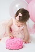 Oregon Baby Photographer Cake Smash