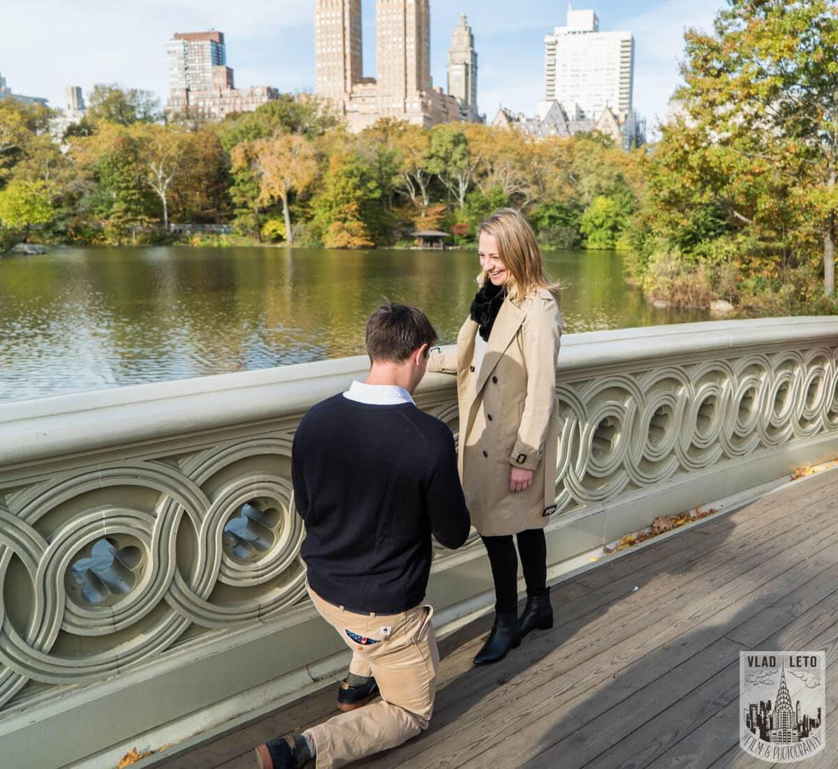 Photo 3 Bow Bridge Marriage proposal 4 | VladLeto