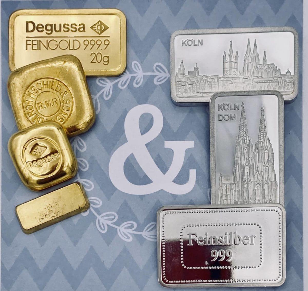 Goldbarren verkaufen Köln