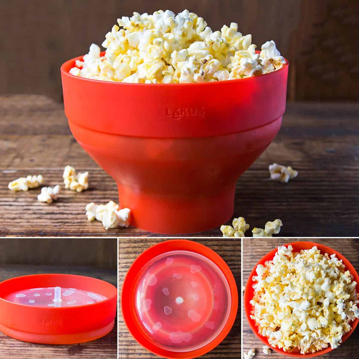 Microwaveable Popcorn Bowl