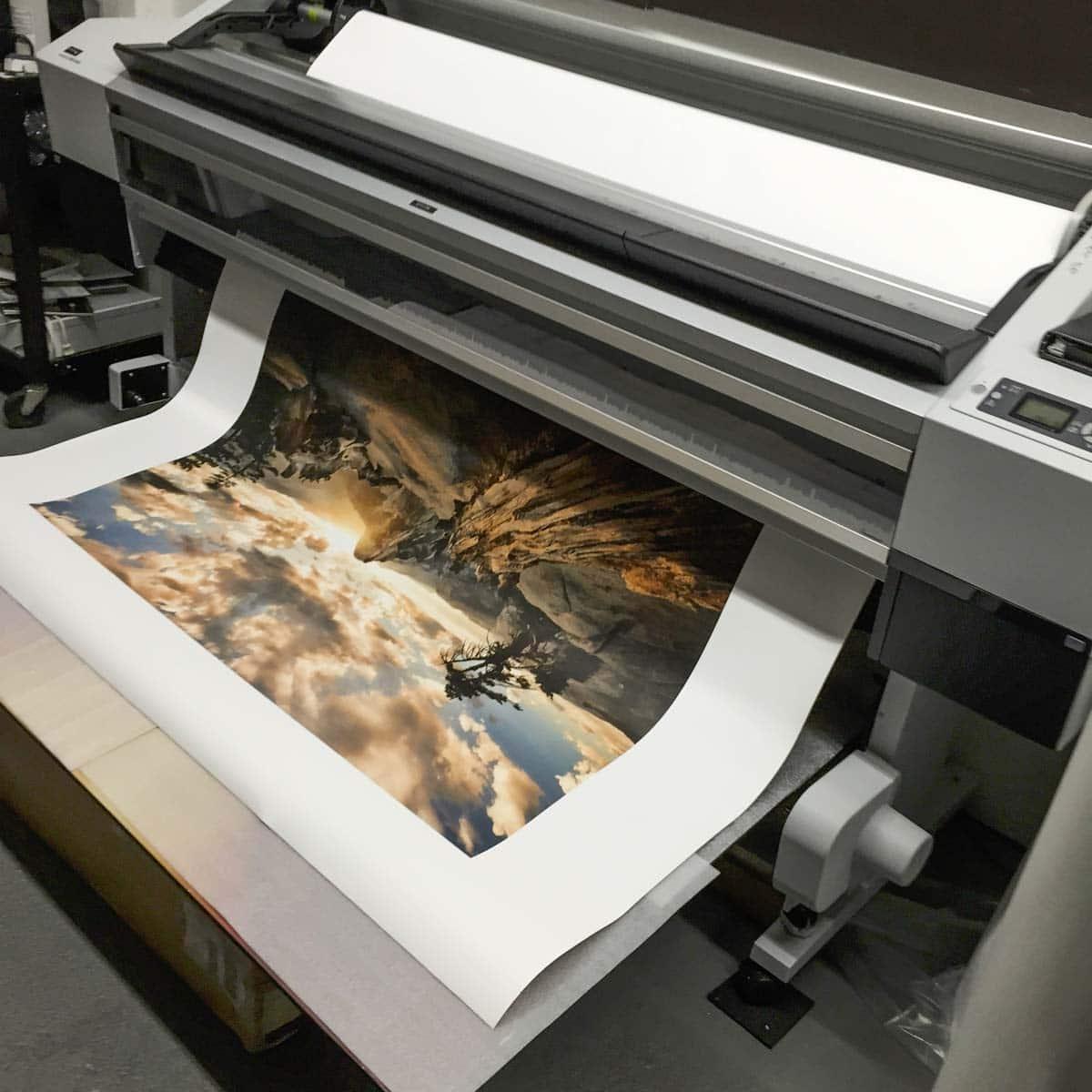 greg goodman epson inkjet print