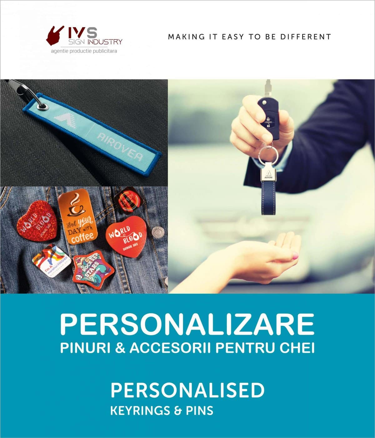 IVS SIGN INDUSTRY Keyrings and Pins