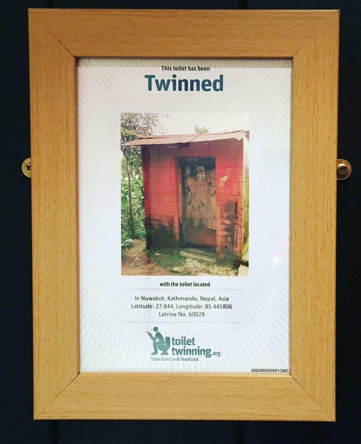 Wild Boar Inn Twinned Toilet