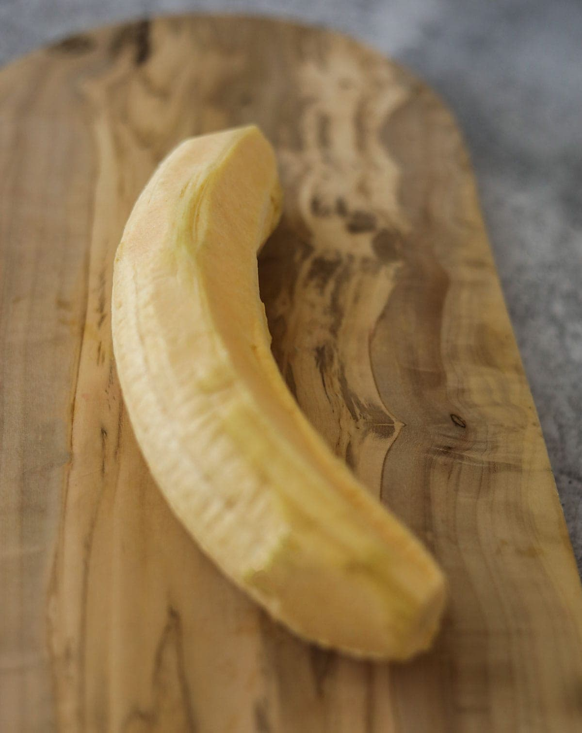peeled plantain for tostones