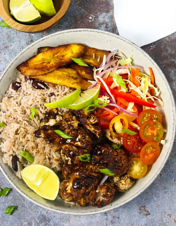 Jamaican Jerk Cauliflower Bowl