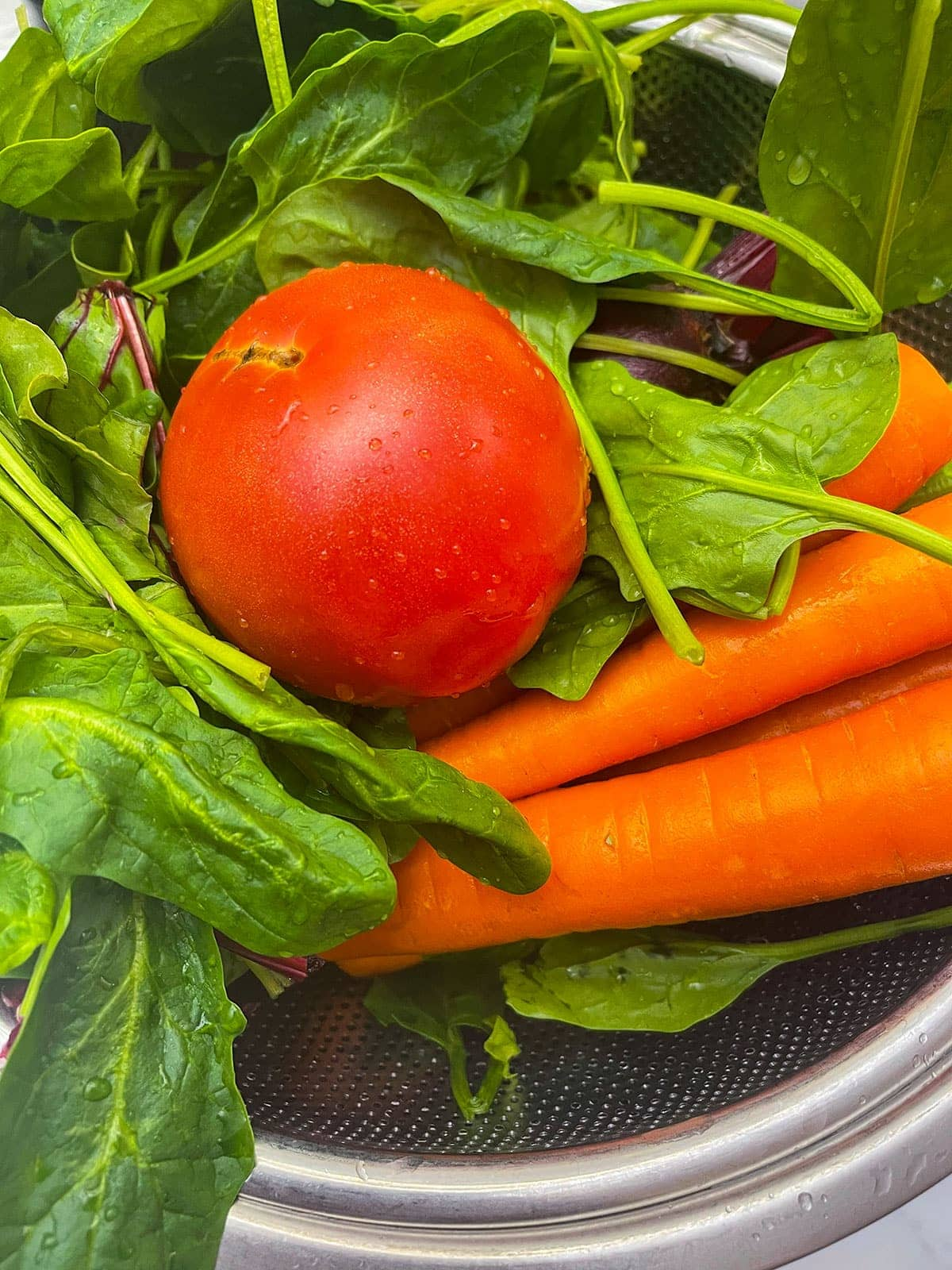 vegetables for V8 juice