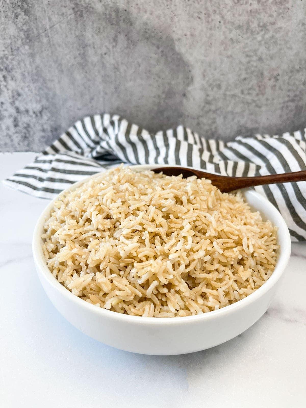 Brown Basmati Rice Instant Pot