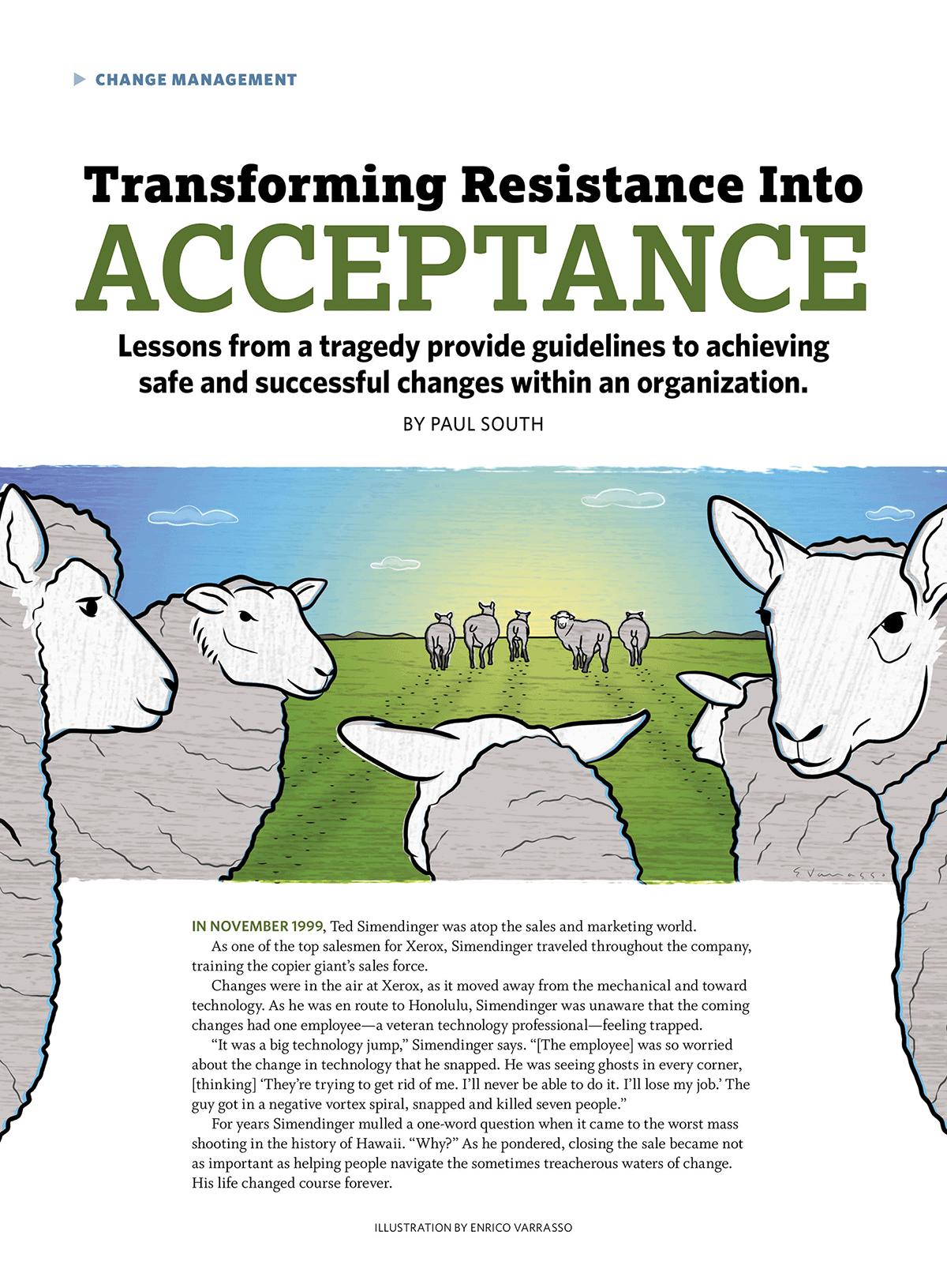 Transforming Resistance into Acceptance