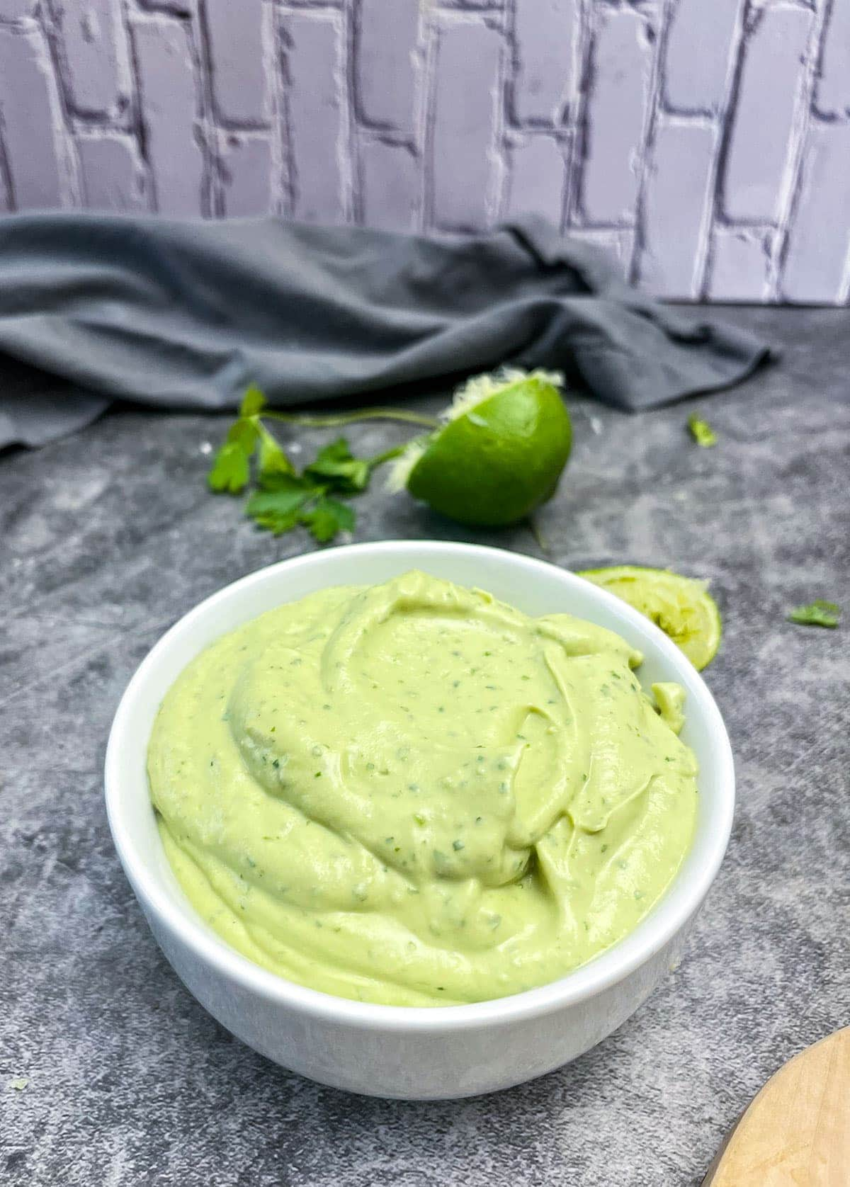 Vegan Avocado Crema