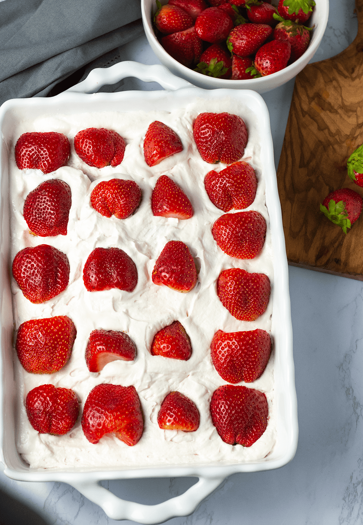 Gluten-Free Vegan Strawberry Ice Box Cake